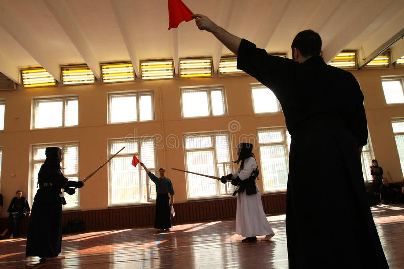 Download Moscow Open Tournament On Kendo Editorial Stock Photo - Image: 13653743