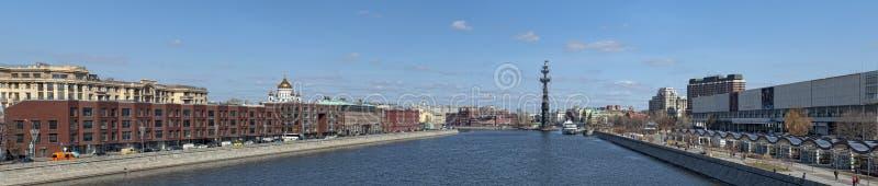 moscow panorama arkivbild
