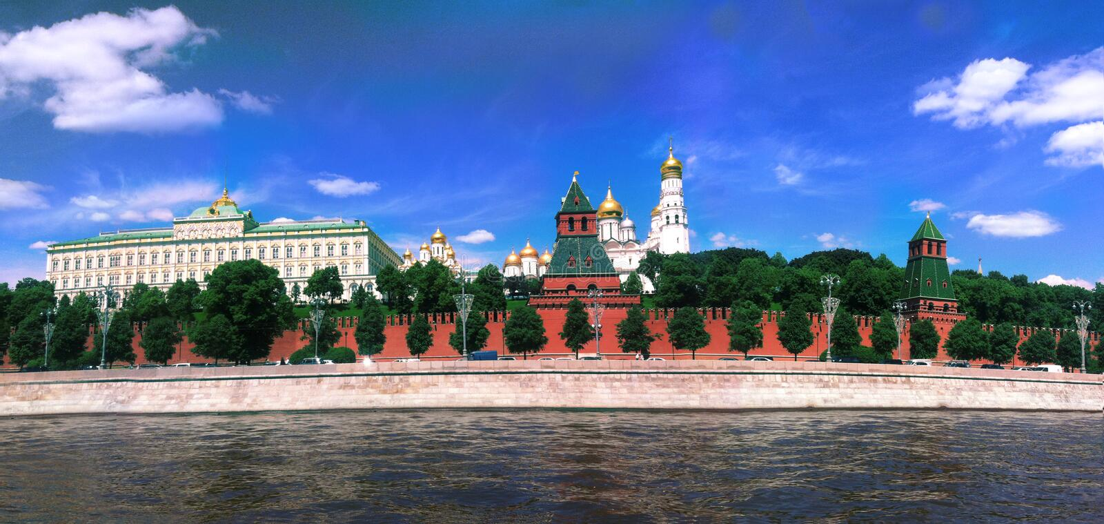 Moscow. Red square. Beautiful landscape stock image