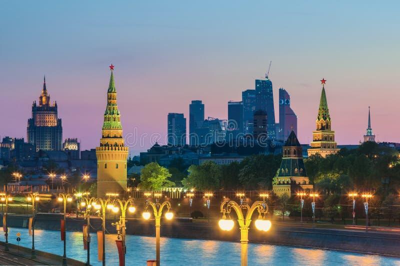 moscow Rosji zdjęcia royalty free
