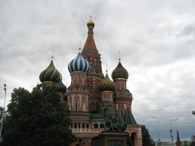 moscow russia arkivbild