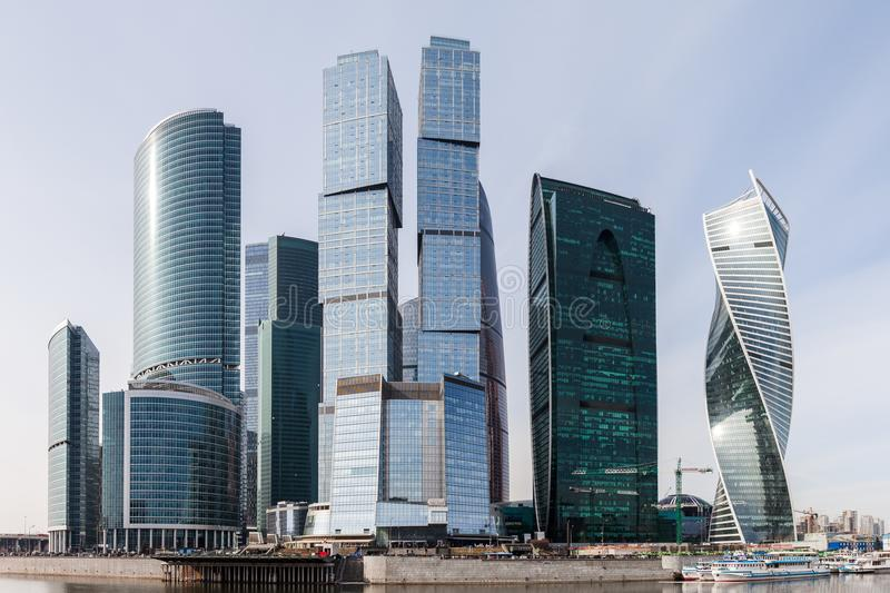 modern architecture skyscrapers.  Skyscrapers Download Modern Architecture Skyscrapers Of International Business Center  At Moscow City Editorial Stock Image  Intended