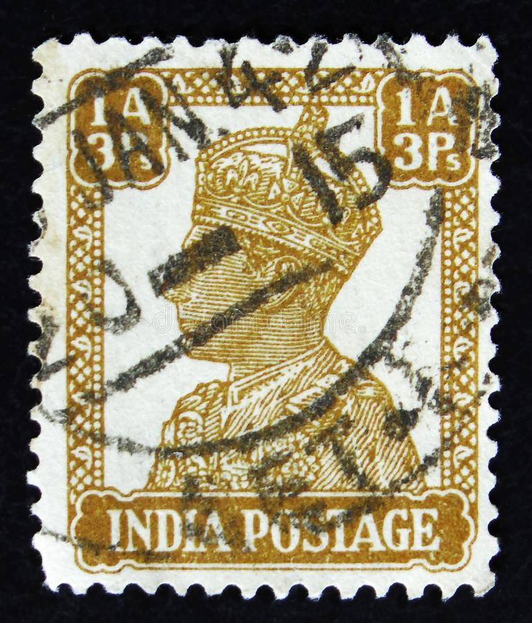 Indian Postage Stamp Shows Four Indian Lions Capital Of Ashoka