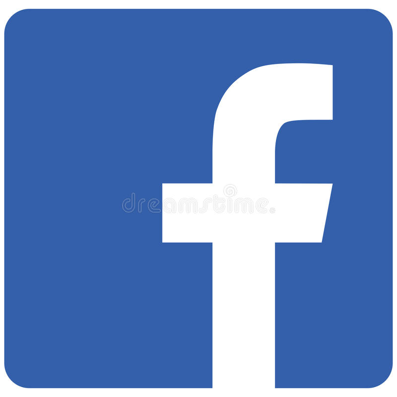Moscow, Russia - August 15, 2017 Facebook icon stock photos