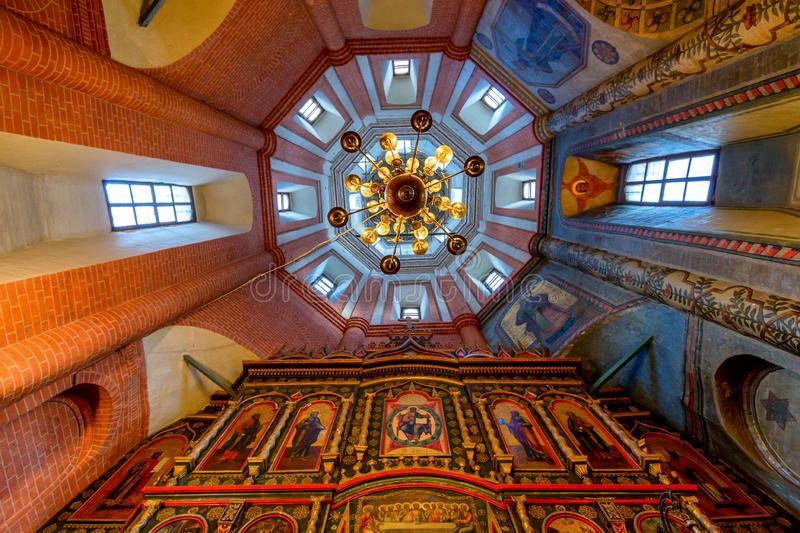 MOSCOW, RUSSIA - AUGUST, 2015: St.Basil Cathedral stock photos