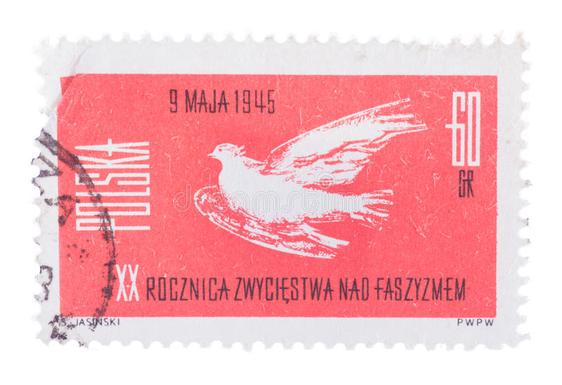 MOSCOW, RUSSIA - CIRCA JANUARY, 2016: a post stamp printed in PO stock images