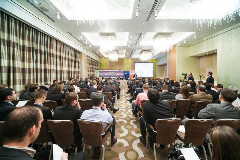 Download IX Annual Conference Of Leasing In Swissotel Editorial Stock Photo - Image: 30095053