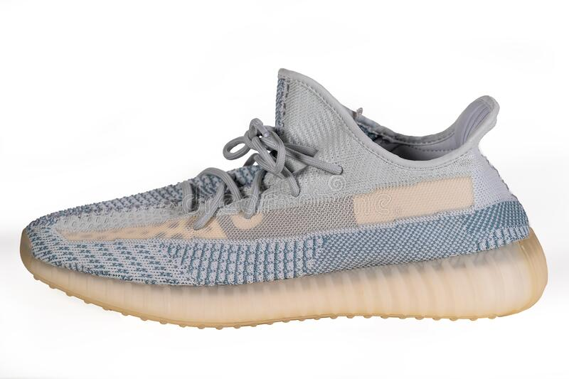 éxtasis Corredor Dar permiso  Moscow, Russia - June 2020 : Adidas Yeezy Boost 350 V2 Cloud White - Famous Limited  Collection Fashion Sneakers By Kanye Editorial Image - Image of shoe, hype:  188673565