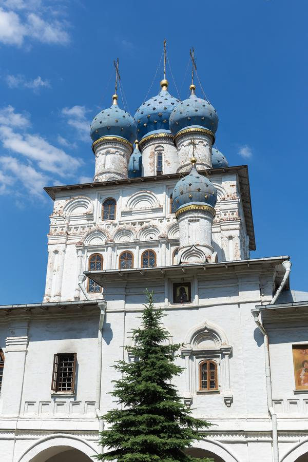 Church of the Kazan Icon of the Mother of God, or Our Lady of Kazan. royalty free stock photo