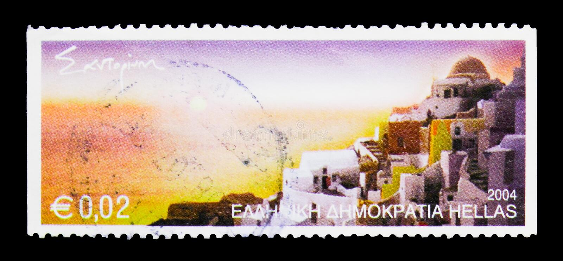 Santorini, Greek Islands serie, circa 2004 royalty free stock photos