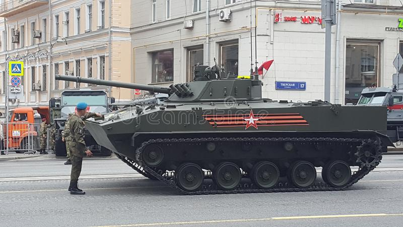 BMD-4 Infantry Fighting Vehicle of Russian Armed Forces royalty free stock photos