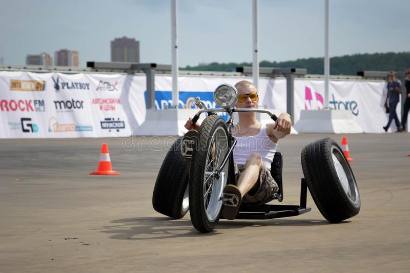 Trike Or Tricycle Vehicle Spyder Is Made By Bombardier