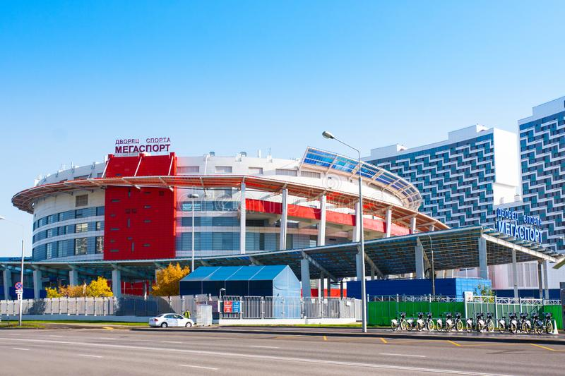 Moscow, Russia - October 18, 2018: Sports Palace royalty free stock photography