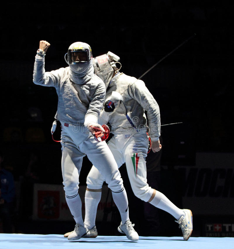 Download Moscow Saber World Fencing Tournament Editorial Stock Photo - Image: 13507158