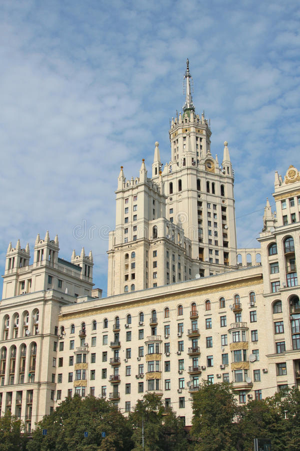Free Moscow Skyscrapper Stock Photography - 21610042