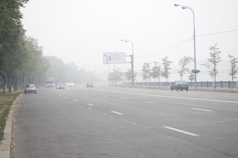 Download Moscow In The Smog Stock Photos - Image: 15567753