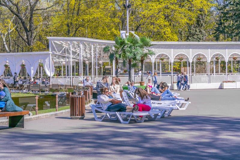 moscow Парк Sokolniki стоковые изображения