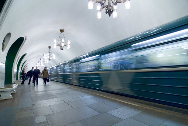 Download Moscow subway stock photo. Image of hour, subway, women - 2221376