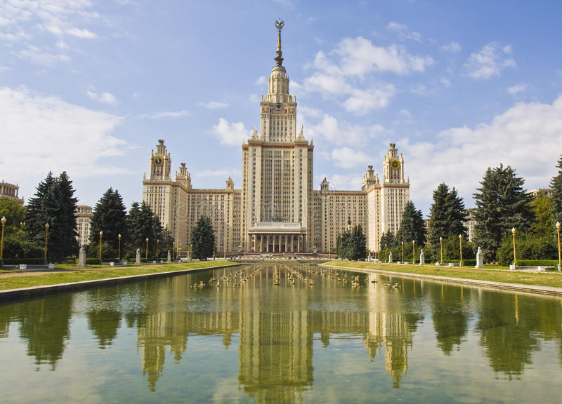 Download Moscow University stock photo. Image of capital, russia - 27364334