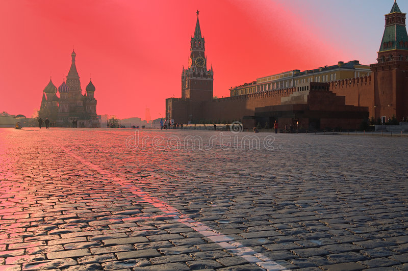 moscow wschód słońca zdjęcie royalty free