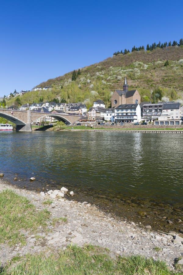 Moselle Przy Cochem, Niemcy zdjęcie royalty free