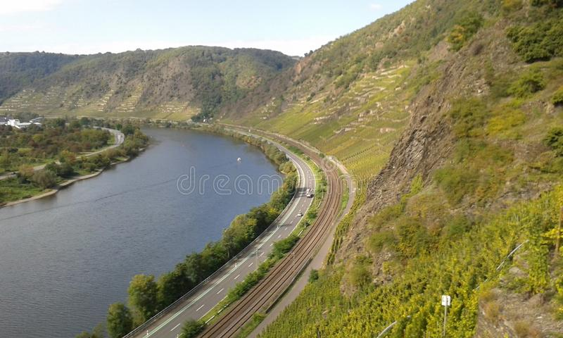Moseltal image stock