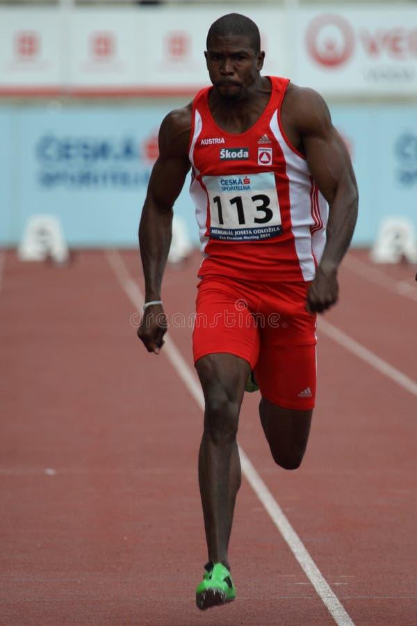 mosely ryan sprinter στοκ φωτογραφίες με δικαίωμα ελεύθερης χρήσης