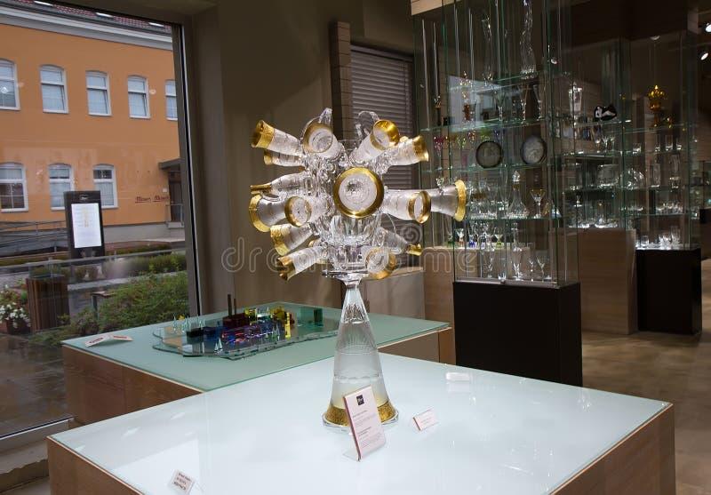 Moser博物馆在卡洛维变化,捷克 库存照片