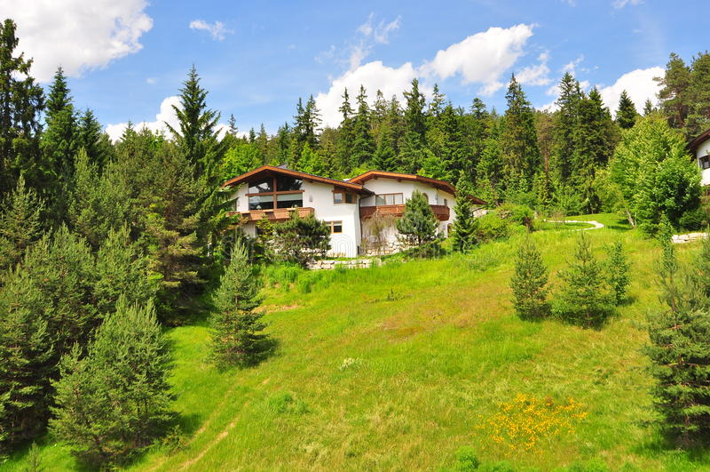 Mosern, Австрия стоковая фотография rf