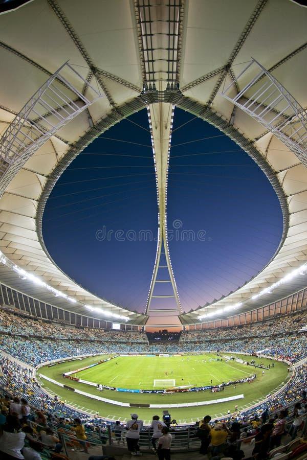 Moses Mabhida Stadium Durban World-Schale lizenzfreie stockfotografie