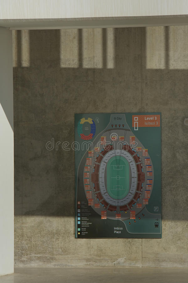 Moses Mabhida Stadium, Soccer World Cup