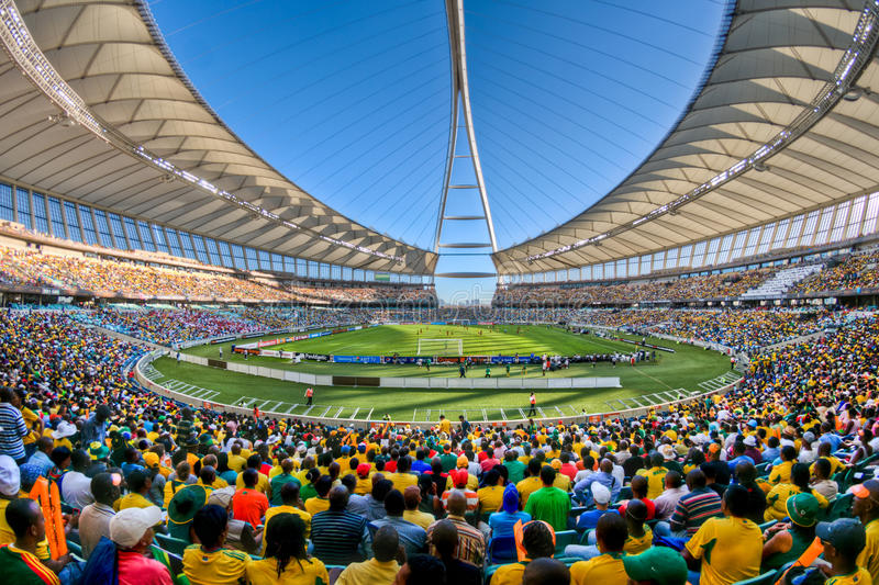Moses Mabhida Stadium World Cup fotos de archivo
