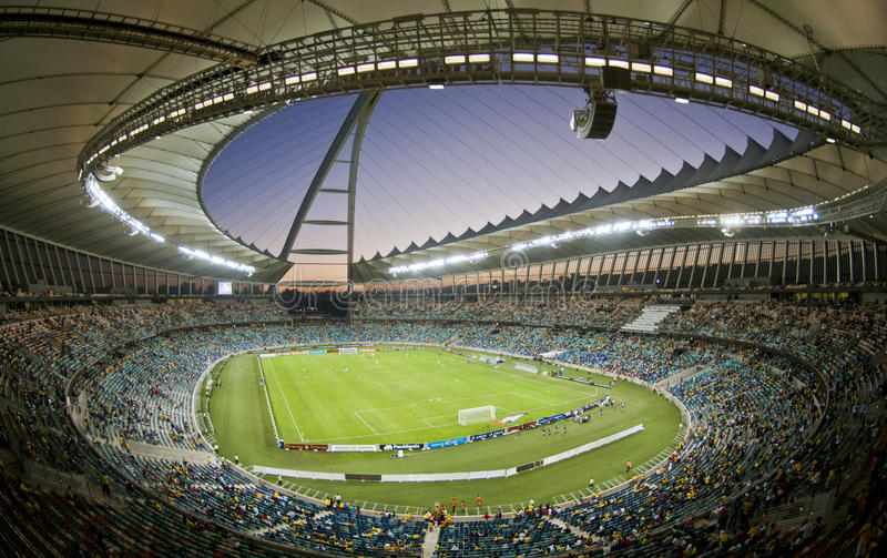 Moses Mabhida Stadium World Cup royalty free stock image