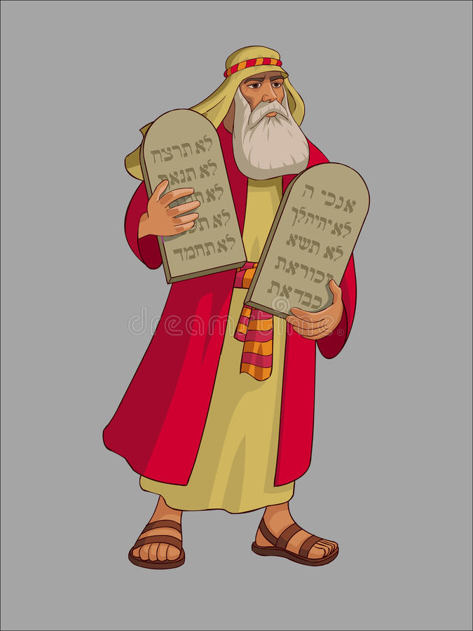 Moses royalty free stock photos
