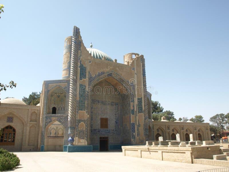 Mosgue velho na cidade de Balkh, Afeganistão imagens de stock royalty free