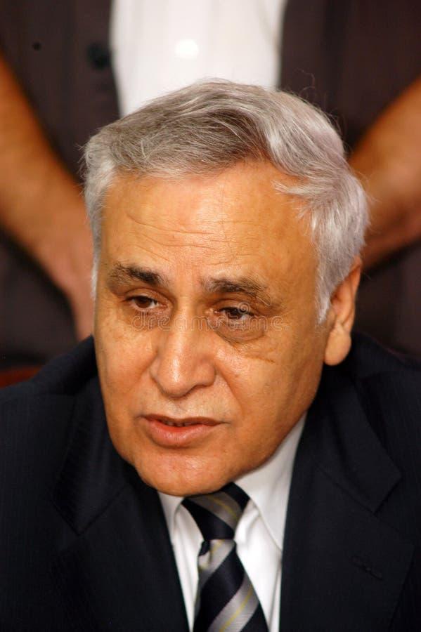 Moshe Katzav - 8th prezydent Izrael obrazy royalty free