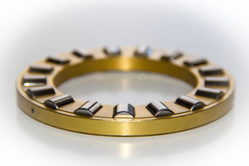 Mosiężna rolkowa klatka estokada rolkowy peleng obraz royalty free