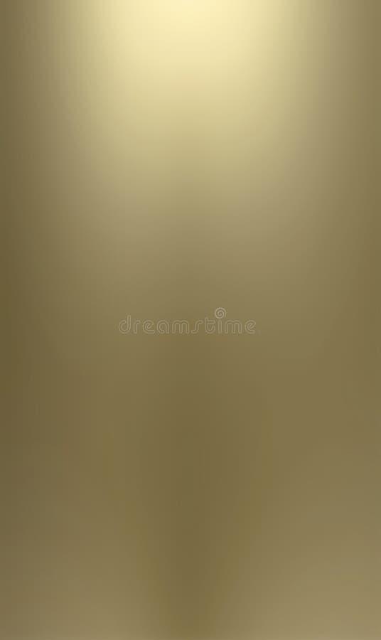 mosiężny backgrou gładkie powierzchnie metalowe ilustracji