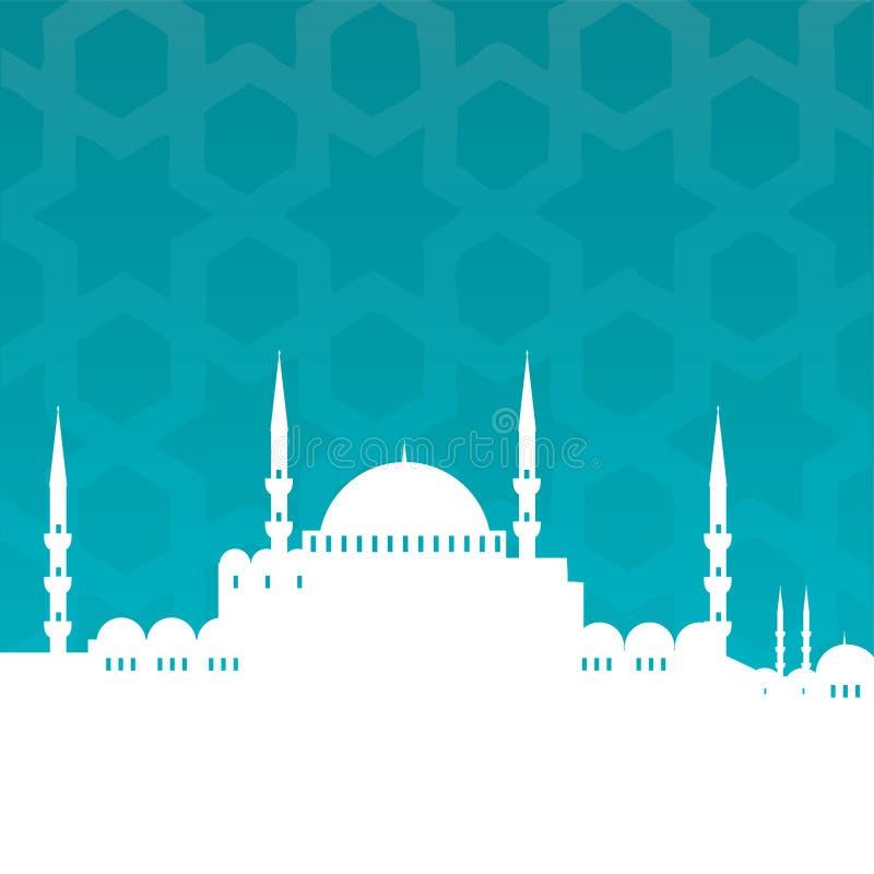 moské vektor illustrationer