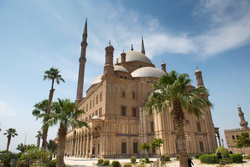 Moské av Muhammad Ali royaltyfri foto