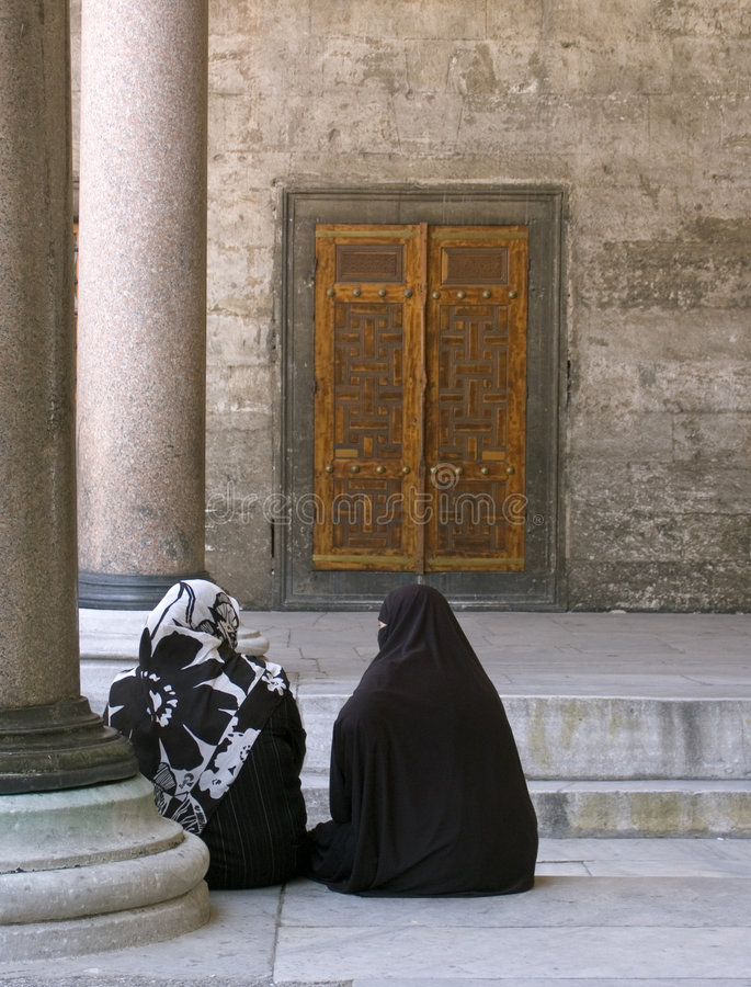 moské för 4 blue arkivfoto