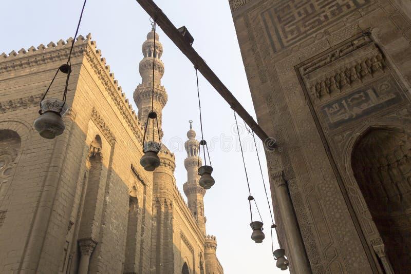 Moské för al-Rifa` I royaltyfria foton
