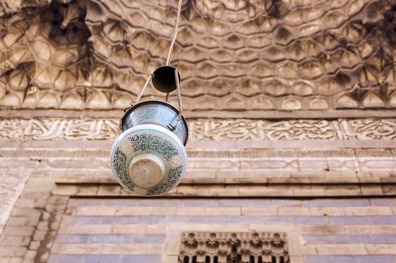 Moské för al-Rifa` I royaltyfri bild