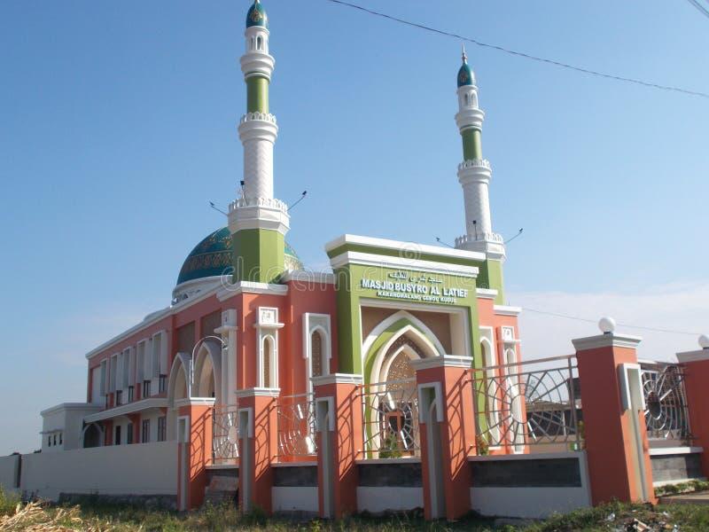 Moské för Busro allatief, kudus, indonesia arkivbilder