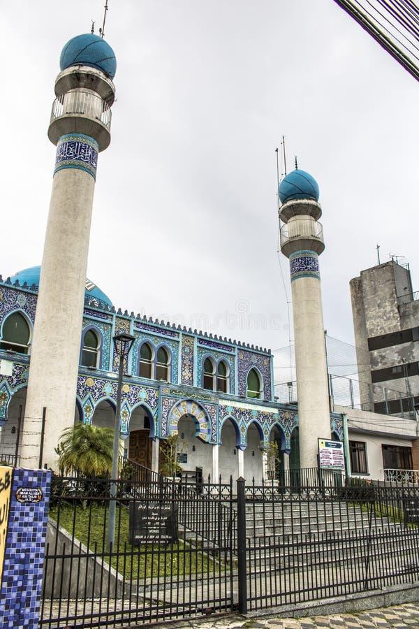 Moské i Curitiba royaltyfria bilder