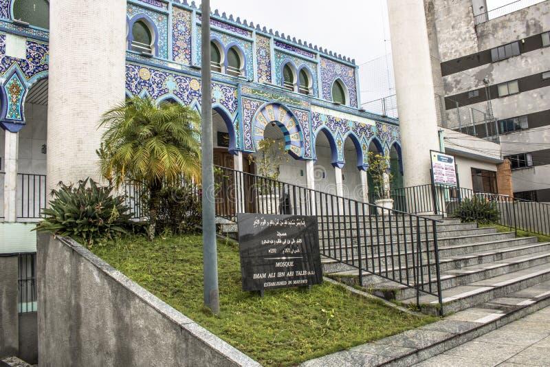 Moské i Curitiba royaltyfri fotografi