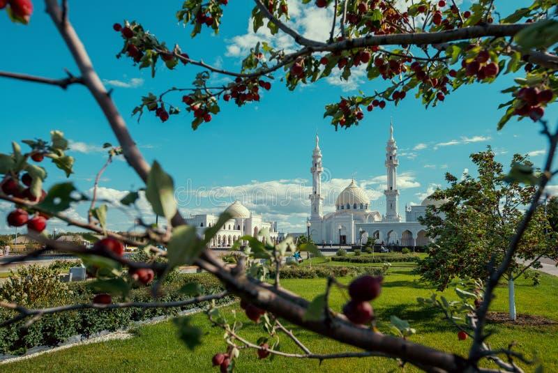 Moské i den ryska staden Bolgar royaltyfria bilder