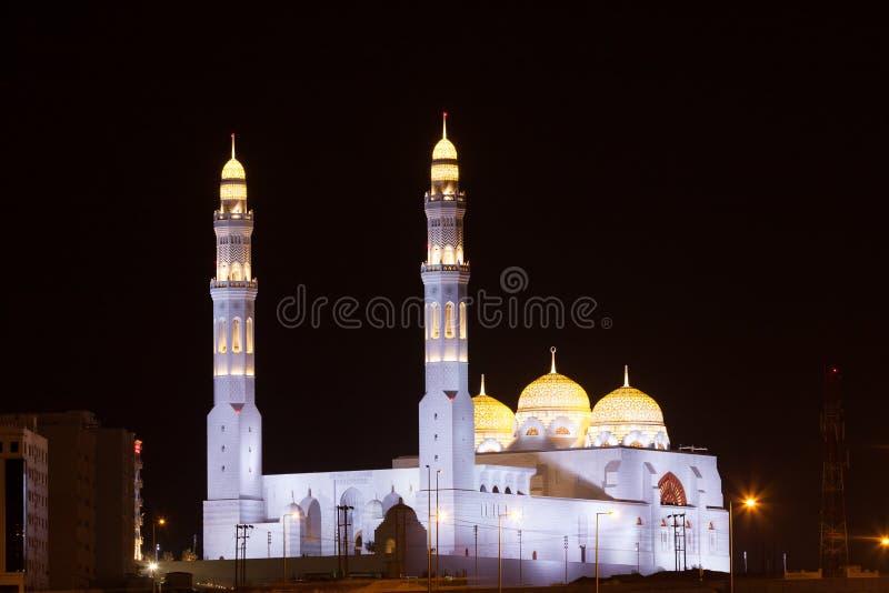 Moské i Muscat, Oman royaltyfri fotografi