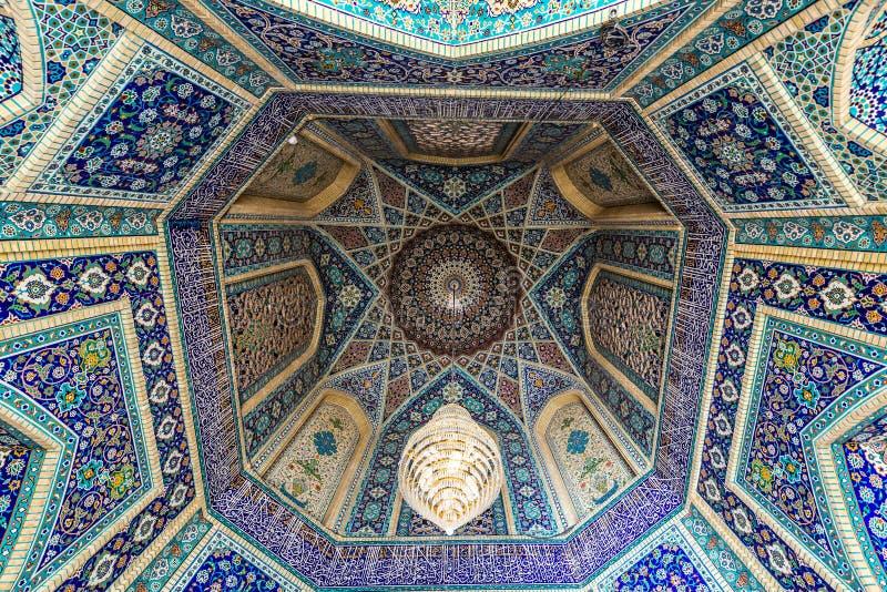 Moské i Shiraz royaltyfria bilder