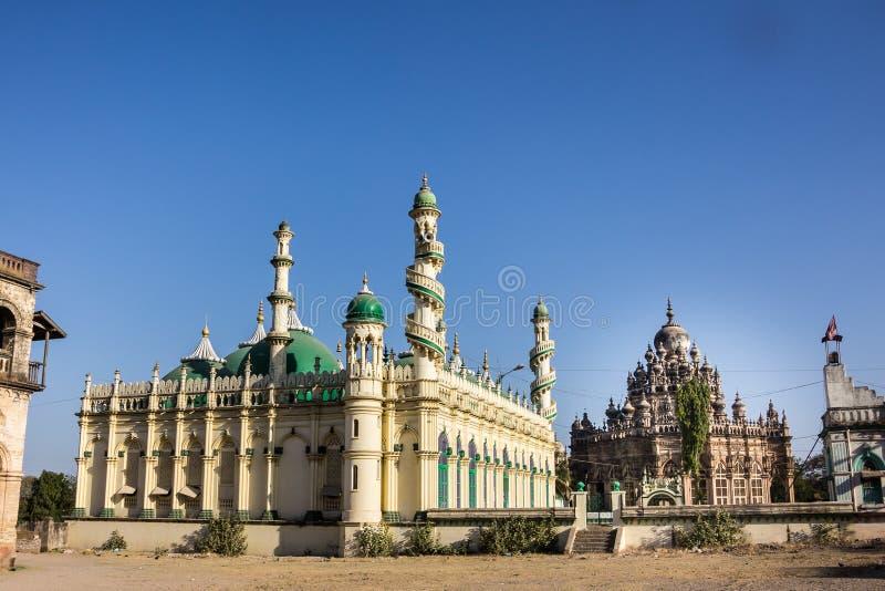 Moské och mausoleum arkivbilder